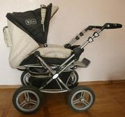 Продам б/у коляску трансформер ABC design Pramy Luxe,  Цвет Mocca.