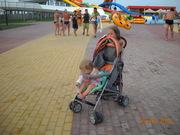 б/у прогулочная коляска не дорого