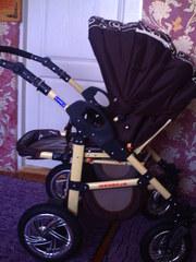 Продам детскую коляску 2 в 1 в идеальном состоянии б/у 6 месяцев