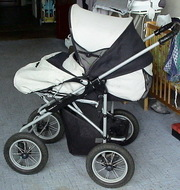 Продаю детскую коляску BEBECAR (0 месяцев - 3 года) б/у.