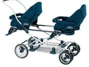Куплю коляску для двойни