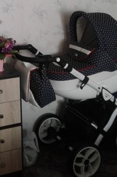 Детская коляска в идеальном состоянии пользовались несколько раз.